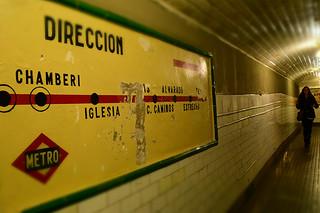 Chamberí (Madrid's ghost metro station)