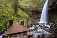Upper Latourel Falls (TwistedJake) Tags: upper latourell falls columbia river gorge oregon northwest waterfall bridge hike outdoors hiking trail