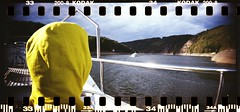 (tomasgans) Tags: vranov dam boat trip boy kid september sprocket rocket panorama kodak film