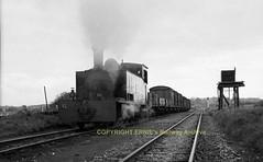 Corofin West Clare section 6T 1953  s704 (Ernies Railway Archive) Tags: westclarerailway irishrail cie corofinstation 6t