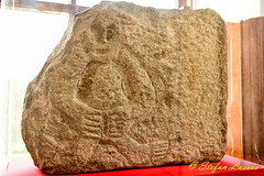Lavey??  Cavan Sheela-na-gig (Salmix_ie) Tags: county cavan sheelanagig lavey museum ballyjamesduff megalithic stone carving pagan pre christian druid fertility symbol nikon nikkor d500