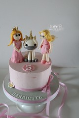 Fairy Princess and Unicorn 5th Birthday Cake (White Rose Cake Design) Tags: princess unicorn fairy birthday cake girls ideas maker west yorkshire huddersfield holmfirth halifax