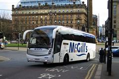 McGill's, Greenock 0608 FJ11GJY (busmanscotland) Tags: mcgills greenock 0608 fj11gjy g0608 volvo b9r caetano levante whittle kidderminster 85 national express clyde flyer clydeflyer