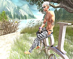 Daydream 2 (Tyler Absent) Tags: daydream deacon hd tyler tattoos tought art natural photography absent portrait people landscape second life summer