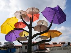 Parasol tree (Teelicht) Tags: asia asien regenschirm singapore singapur umbrella platinumheartaward