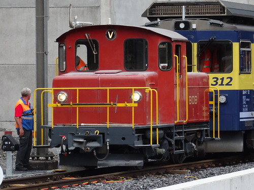 BOB - Diesellocomotive type Tm 2/2 N° 1.