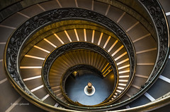 Vatican Staircase (pietkagab) Tags: vatican staircase museums rome italy spiral bramantestaircase architecture pietkagab photography piotrgaborek pentax pentaxk5ii travel trip tourism indoors sightseeing europe