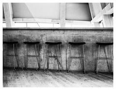 Bar Stools (Gretsch*) Tags: leicasummicron35mmf20asph leicam240 london londres angleterre england tatemodern blackwhite noirblanc leicamptyp240