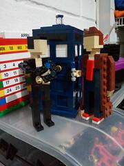9th & 10th Doctor with the TARDIS (andresignatius) Tags: lego miniland doctorwho tardis