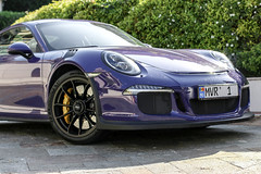 Well Used (ak_russ) Tags: porsche 911 gt3 gt3rs cars car autos auto supercar supercars purple used bugs dirty topmarques monaco parked parking spotter spotted