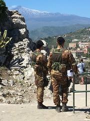 Soldiers of Taormina (nprpdx) Tags: taormina sicilia vpl