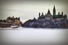 Canadian Parliament, Ottawa, ON, Canada (LuciaB) Tags: canadianparliament ottawa winterinottawaontariocanada river ottawariver