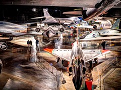 US Air Force Museum - Cold War Gallery (trustypics) Tags: unitedstates airforce museum wright patterson b1b u2 sr71 b2 f106a f102a hdr