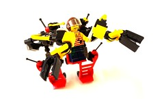Handcart-Based Utility Mech / Worker's Walker (HBUMWW) (SuperLushFeverDream) Tags: lego legos moc mocs mech mecha legomech legomechs mechs mechsuit walker walkers toys