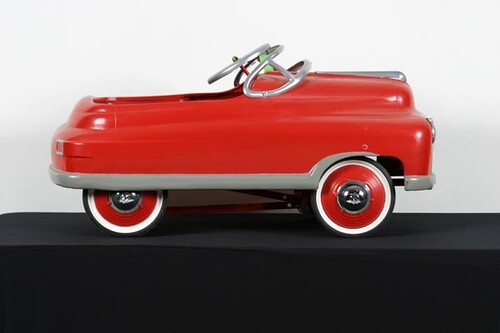 Red Pedal Car, Restored ($392.00)