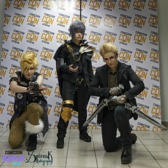 Comicdom Con Athens 2017: Group Cosplays: Highness and co, as Final Fantasy XV (SpirosK photography) Tags: comicdomcon comicdomcon2017 comicdomconathens2017 athens greece convention spiroskphotography prejudging photobooth game videogame videogamecharacter cosplay costumeplay groupcosplay highnesscosplay finalfantasyxv finalfantasyseries finalfantasy