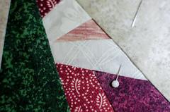 Patchwork (L E Dye) Tags: macromonday themeclothtextile alberta canada d5100 ledye nikon patchwork santa 20mmextensiontube
