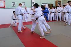 Nada High School visits Oxford Judo