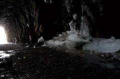 DSC_0736 (devoutly_evasive) Tags: fletttunnel thunderbay ontario northwestern carved rock abandoned railway railroad melt melting melted ice formation tunnel forms