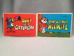 Kellogg's Ecology Stickers (toyfun4u) Tags: kelloggs cereal