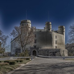 Castle Orlik surrealism photo