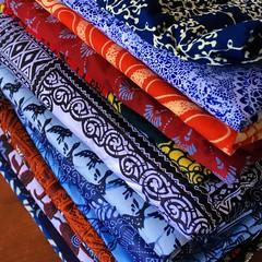 Wax Print Heaven (Rachel Strohm) Tags: africa ghana accra waxprint textile textiles kitenge cloth colorful colors