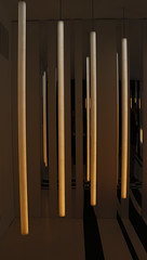 Quantum (Cecilia Brianza) Tags: quantum artemide milanodesignweek light installation luce installazione cylinder