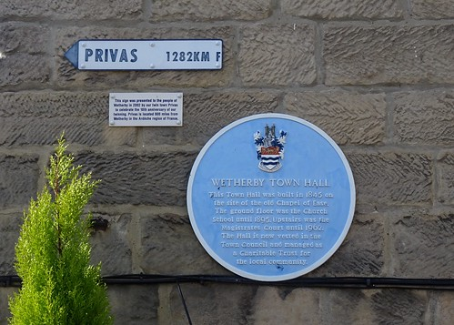 Town Hall Plaque, Wetherby