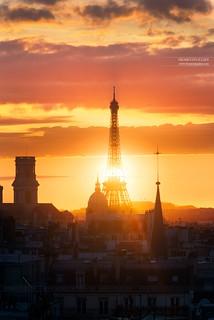 Tour Eiffel & Dôme des Invalides, Paris