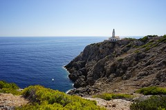 far de capdepera (christian mu) Tags: capdepera fardecapdepera lighthouse calaratjada landscape architecture spain nature ocean water shore summer mallorca