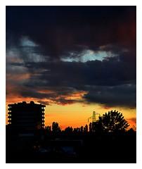 213 (roxyhopelust) Tags: sunset sky colors cloud nature nikon photo photography photos pic sundown sun warmcolors blue red orange yellow pink purple violet city cityscape silhouette