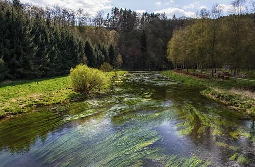 River Semois in Mortehan