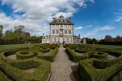 In the Garden (Evoljo) Tags: nationaltrust ashdownhouse berkshire lambourndowns house huntinglodge sky nikon d500 garden fisheye