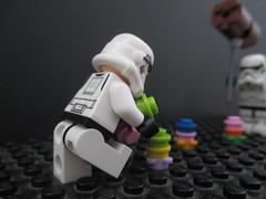 Knight B. #LEGOEaster (JellyBeanie81) Tags: brickset legoeaster starwars funny lego stormtrooper