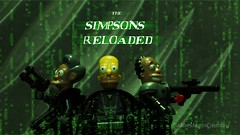 The Simpsons Reloaded (Mars Mann) Tags: thesimpsons legophotography thematrix homersimpson apu drhibbert actionmovie toyphotography minifigures postprocessing poster thematrixreloaded legography concept scifi olympuscamera olympus olympusem1 creative marsmannphotography marsmanncreations