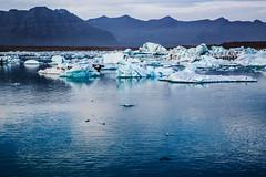 icebergs (Vivid Silence) Tags: iceland jökulsarlon ice death glacier water island landscape nature