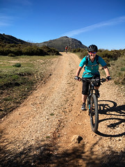The Lifa Pass (Gee & Kay Webb) Tags: mtb mountainbike trails andaluz adventure bike kay fireroad lifapass spain saddleskedaddle riding