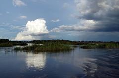 Upcoming Storm over the Zambesi near Katima Mulilo