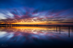 CCLJ150403 (Mathew Courtney) Tags: longjetty nsw reflections sunset water clouds