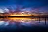 CCLJ150403 (Mathew Courtney) Tags: longjetty nsw reflections sunset water clouds