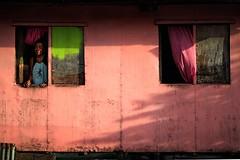BS0I0264 (jeridaking) Tags: phototip lighting light window scene person portrait curtains photo people filipino pinoy folks guiuan samar eastern sulangan fishing village fisherman hide tension frame windows color