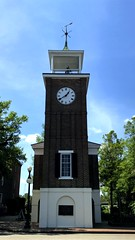 Georgetown Clock Tower (joeclin) Tags: northamerica unitedstates usa southcarolina sc georgetown iphoneography outdoor color architecture clocktower historiclandmark amateur appleiphone7 joelin joeclin iphone