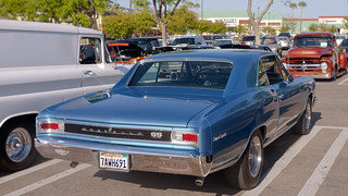 1966 Chevrolet Chevelle SS396 Sport Coupe, rear --- EXPLORED