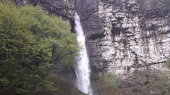 A cascade along the regional road no 207 Agordina (Dolomites) (ab.130722jvkz) Tags: italy veneto alps easternalps dolomites waterfalls dolomitibellunesi