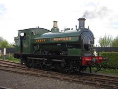IMG_4716 - GWR Hudswell Clarke Saddle Tank 813 (SVREnthusiast) Tags: didcotrailwaycentre didcot railway centre gwrhudswellclarkesaddletank813 gwr hudswellclarke saddletank 813