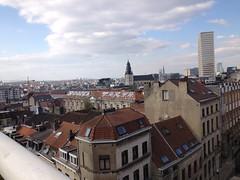 Vistas Poelaert (Erasmusenflandes) Tags: erasmusbruselas palacio de justicia poelaert chapelle rue haute lepée colline capucins marolles contrastes bruselas bruxelles
