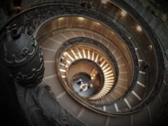 Vatican Museums - Musei Vaticani. (stupiduglyfool) Tags: vaticanmuseums museivaticani italy rome stairs spiral goldenratio fibonacci architecture museum olympus em1