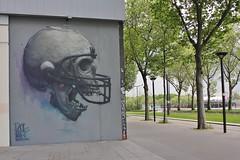 BomK_4715 boulevard du Général Jean Simon Paris 13 (meuh1246) Tags: streetart paris boulevarddugénéraljeansimon lelavomatik paris13 bomk crâne damentalvaporz