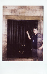 001-5 (G.Clark Photography) Tags: instax mini fujifilminstaxmini90neo fuji instant film scans friends double exposure disappointed hipster douche jail loser