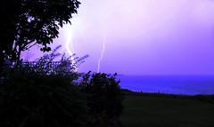 Thunder Storm (Danny VB) Tags: thunder storm eclair tempete gaspesie quebec canada canon 6d summer nopostprocessing light night